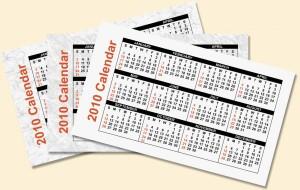 джобни календари