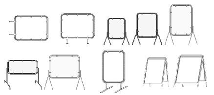 Метални табели с рекламни надписи